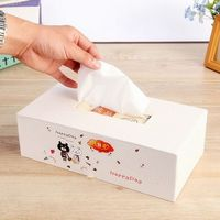 Groothandel Koreaanse versie van Winnie de vierkante tissue doos/Mode Tissue doos tissue pompen opbergdoos tissue pompen tray