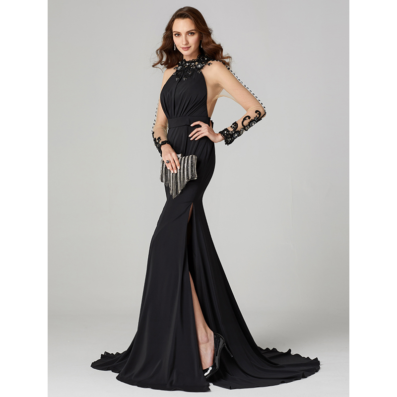 Ts Couture Video By Lightinthebox Mermaid Trumpet High Neck Floor
