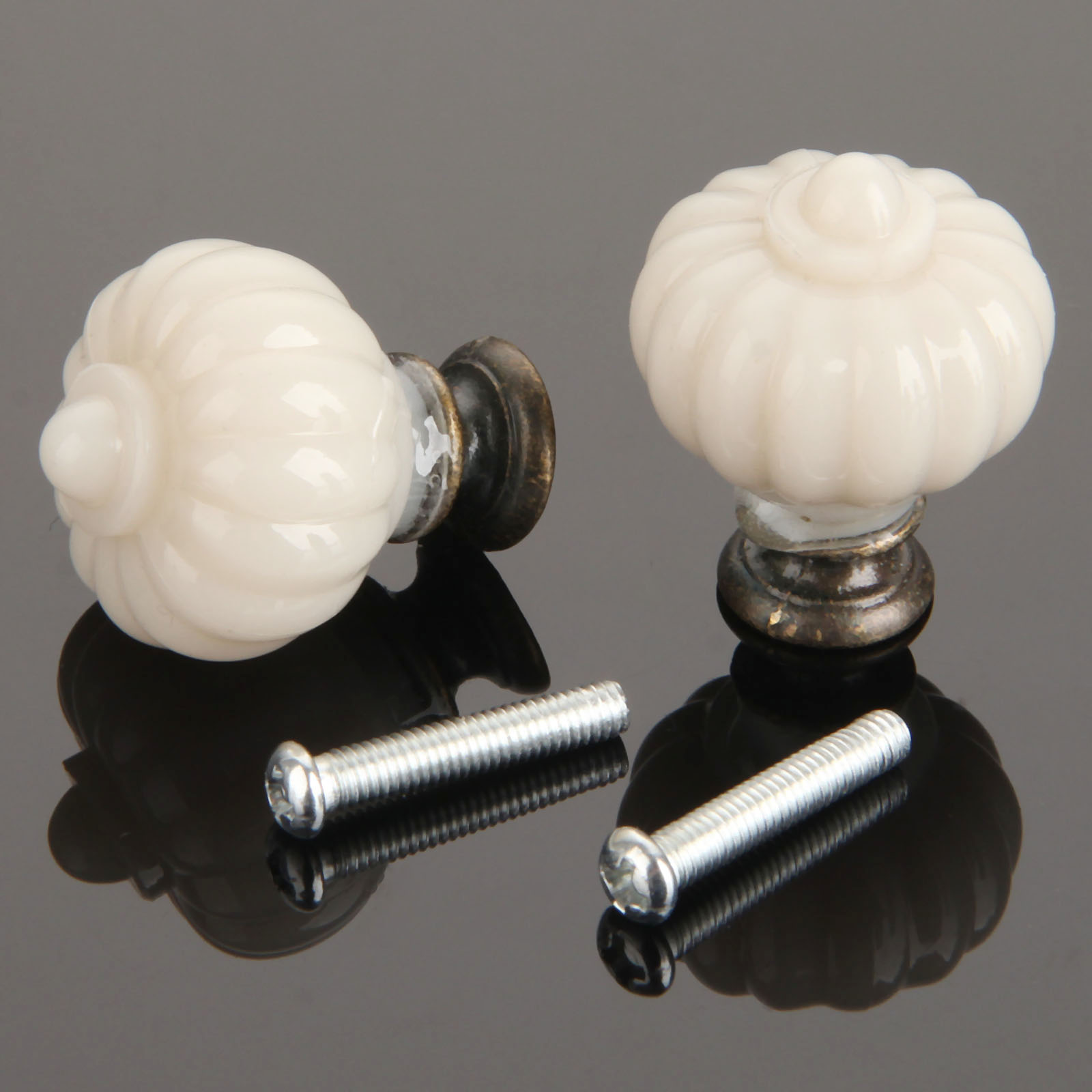 1Pc Furniture Handles Pumpkin Lantern Wardrobe Door Drawer Pulls Handles Kitchen Cupboard Handle Cabinet Knobs and Handles furniture handles wardrobe door pulls dresser drawer handles kitchen cupboard handle cabinet knobs and handles 64mm 96mm 128mm