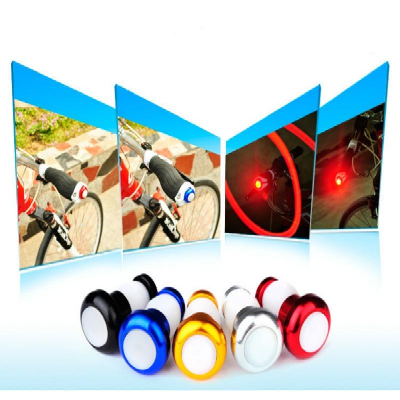 2pcs Bicycle Light New Bike Turn Signal Lights Cycling Warning Lights Handlebar Indicator Lights for Bike Accessorie