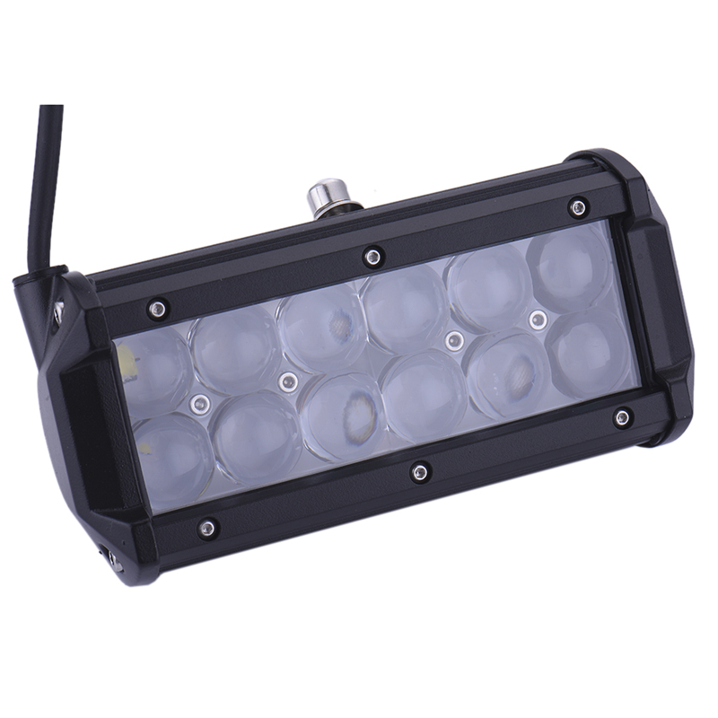 1Pc Waterproof IP68 36W LED Work Light Lamp Driving for Motorcycle Tractor Boat Off Road 4WD 4X4 Truck SUV ATV Spot 12V 24V