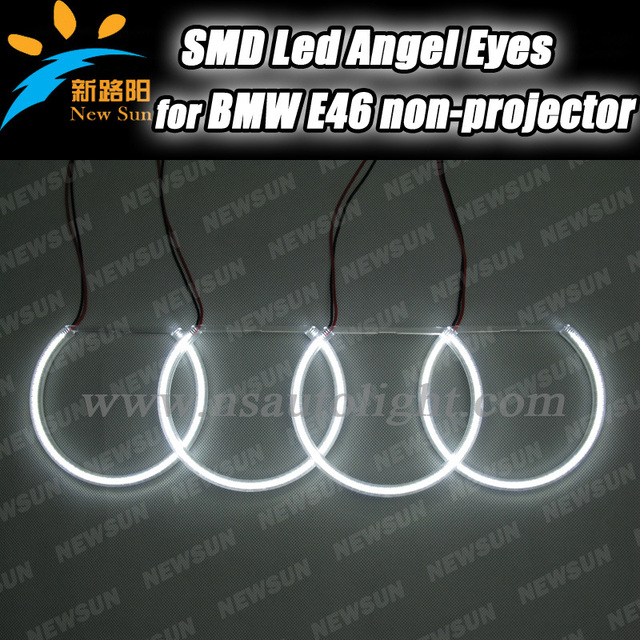 bmw e46 headlight wiring harness bmw image wiring aliexpress com buy 2 sets lot smd led angel eyes halo rings kit on bmw e46 bmw e46 engine wiring harness