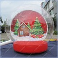 Inflatable Snow Globe,Outdoor Christmas Decoration,Christmas Photo Snow Globe Commercial Quality,Free Shiping
