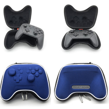 Blue Switch Pro Controller Bag Case Travel Carring Storage Pouch Hard Pack For Nintendo Nintend Switch Pro Controller Shockproof геймпад nintendo switch pro controller