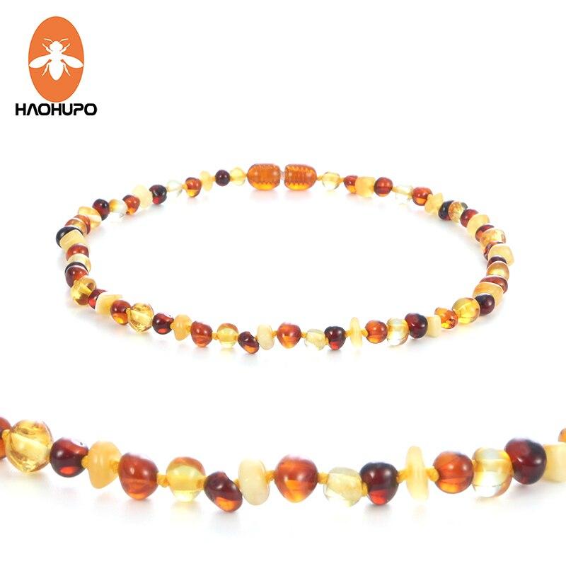 HAOHUPO Πολύχρωμο κεχριμπάρι κεχριμπάρι για τις γυναίκες μωρών Βαλτική γυαλισμένο κεχριμπάρι φυσικές χάντρες Κοσμήματα κολάρο Προμηθευτές για Etsy