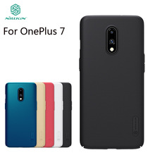 Nilkin For OnePlus 7 Case Cover Nillkin Frosted Shield Hard PC Back Phone Cover For OnePlus 7 стоимость