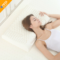 High Quality Contour Massage Natural Latex Pillow For Adult With Velvet Outer Cervical Health 60 40
