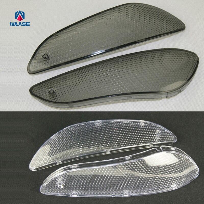 waase Front Turn Signals Blinker Indicator Light Housing Lenses For BMW K1200LT 1999 2000 2001-2004 / K1200LT-M 2005 2006 2007waase Front Turn Signals Blinker Indicator Light Housing Lenses For BMW K1200LT 1999 2000 2001-2004 / K1200LT-M 2005 2006 2007