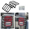 Tail Rear Light Guards Cover Protector For 07 17 Jeep Wrangler JK 2 Door Umlimited 4