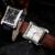 Sewor deporte de los hombres reloj de cuero de moda reloj mecánico automático reloj de los hombres famoso diseño de lujo de negocios relojes de oro