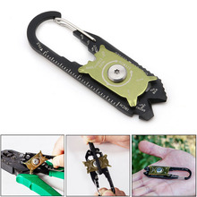 New 20 In 1 Stainless Steel Screwdriver Wrench Keychain Outdoor Pocket Portable Multi Function Tool For Camping/Travel/Home