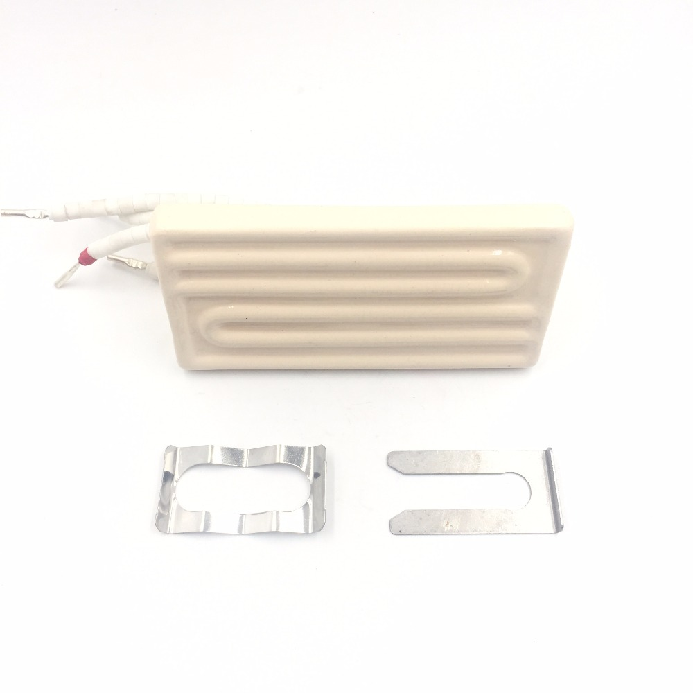 Ceramic Heater Board 120*60MM 220V/230V 300W White Arc Infrared Ceramic Heating Plate For BGA Station With thermocouple K Type 220v 210x100mm white ir infrared curved ceramic heater plate air heating board pad for bga station mould metal clip ptc heater