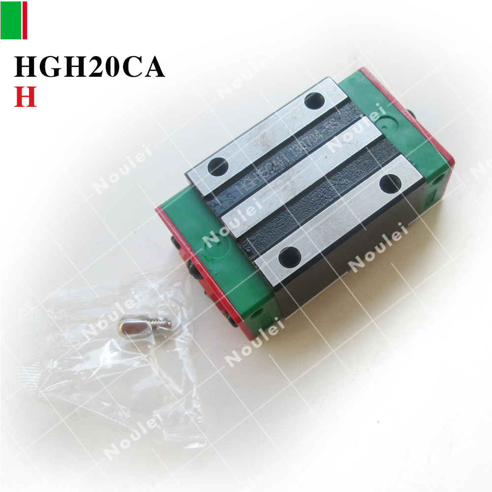 HIWIN HGH20CA sliding guide block HGH20 CA ZAH class H for High precision linear rail cnc kit toothed belt drive motorized stepper motor precision guide rail manufacturer guideway
