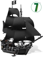 2017 LEPIN 16006 Pirates Of The Caribbean The Black Pearl Building Model Blocks Set Toys Clone