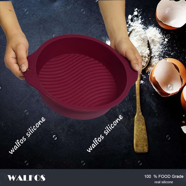 Round Silicone Non Stick Cake Pan