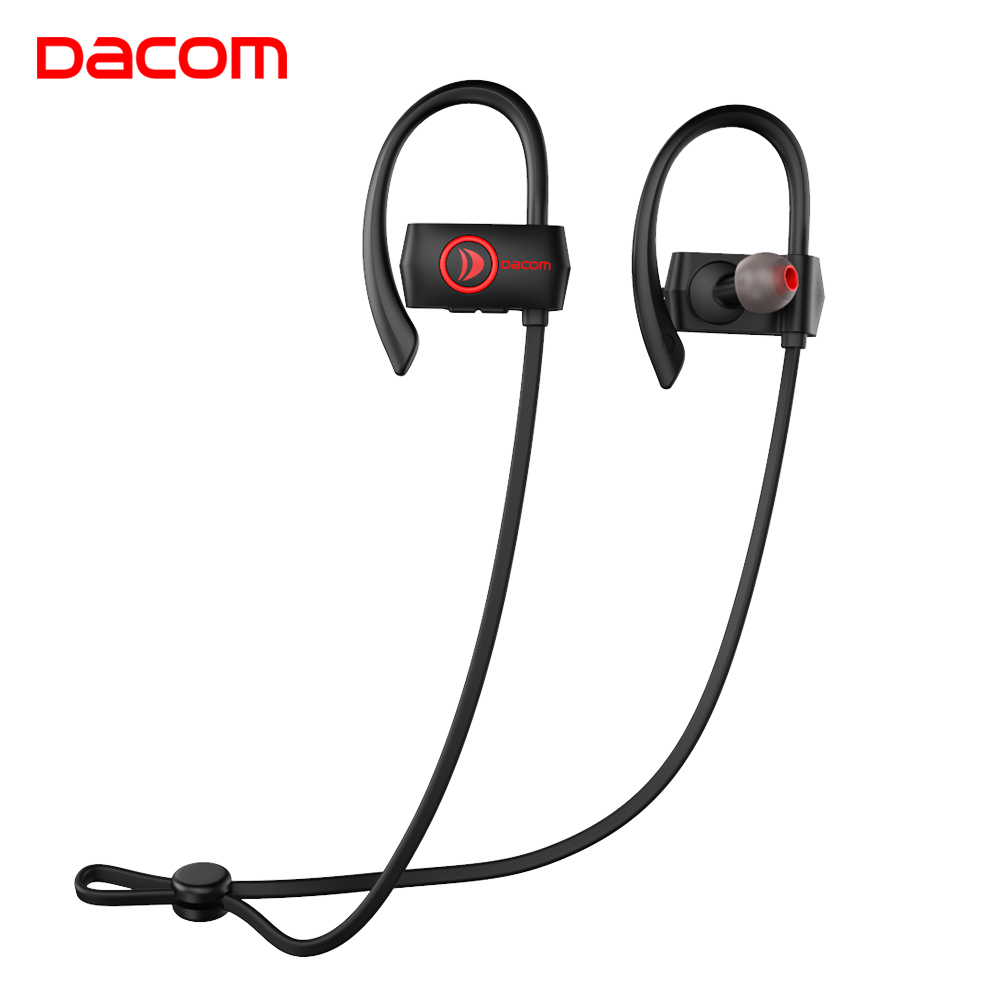 Dacom In Ear Wireless Headphones IPX7 Waterproof Cordless Bluetooth Earphone with 2 in 1 USB Cable