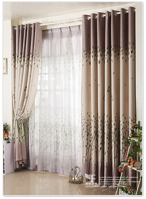 [Textile Goddess]Korean Garden Shade Cloth Curtains Bedroom Curtains IKEA  Product Customization * Romantic
