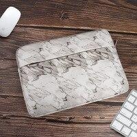 Capa para laptop de mármore  capa protetora para notebook 14 15.4 15.6 polegadas para macbook air pro 13 15 e xiaomi hp lenovo dell coque sacce