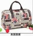 2016 promoción bolso de totalizadores de lona impermeable portable del equipaje del viaje de gran capacidad de la gota libre TB0010 de envío