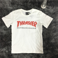 2017 Summer Thrasher T Shirt Men Wome Flame Blaze Thrasher T-shirts Magazine Hip Hop Trasher Street Wear Thrasher T Shirt Men