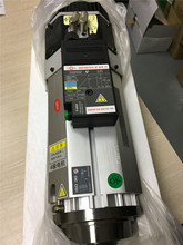 9KW Air cooled BT30 ISO30 ATC Spindle Motor 220V 12000 24000rpm 6 4Nm 22A Short Head