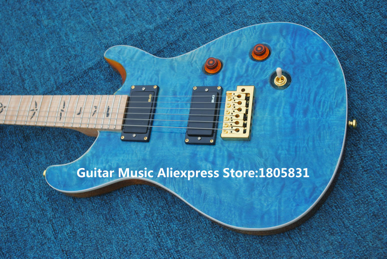 china guitars newest blue wave electric guitar maple fingerboard high quality best selling in. Black Bedroom Furniture Sets. Home Design Ideas