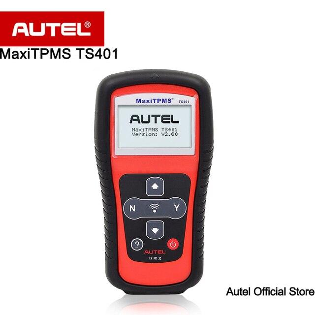 Autel MaxiTPMS TS401 TPMS Diagnostic and Service Tool Faster Activation and Diagnostics Interpret data including sensor ID etc.