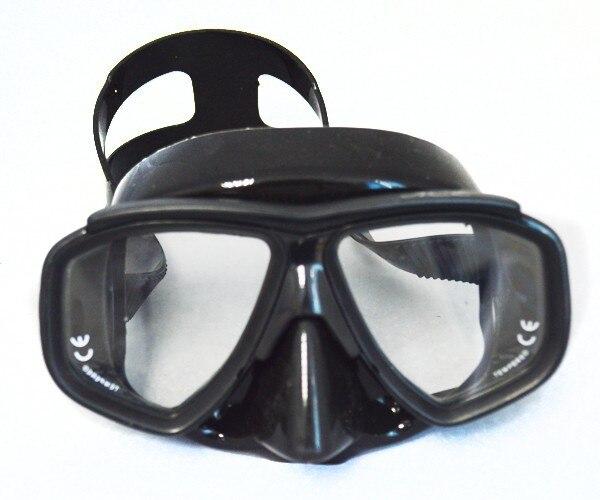 Ultra baixo volume preto máscara de mergulho