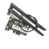 WDXUN Wireless AC 8265 867Mbps 802.11 AC Dual Band Desktop PCI E WiFi Adapter PCI Express Card for Intel 8265AC + Bluetooth 4.2