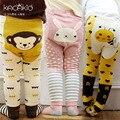 2016 Весна Осень Колготки Зимние Девочки Мальчики Ноги Теплые Младенческой Комплект Одежды Милые Животные Pp Базы носки