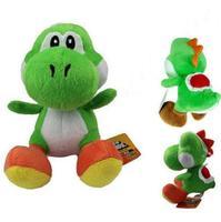 New 12 Super Mario Bros Green Yoshi Plush Toy Kids Soft Toy Doll Gift