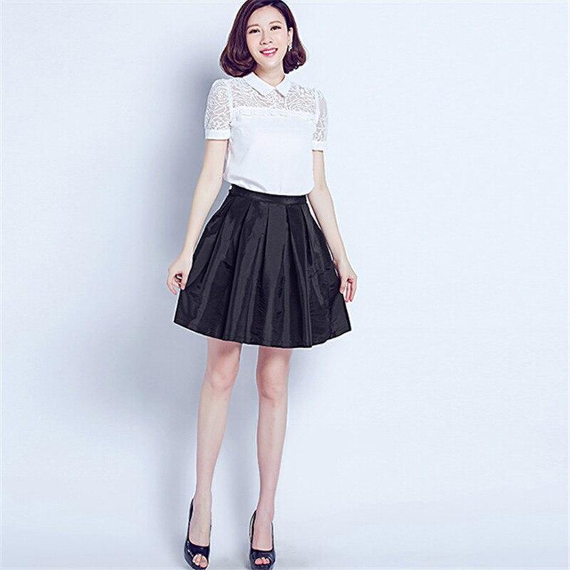 Черные пышные юбки школьные