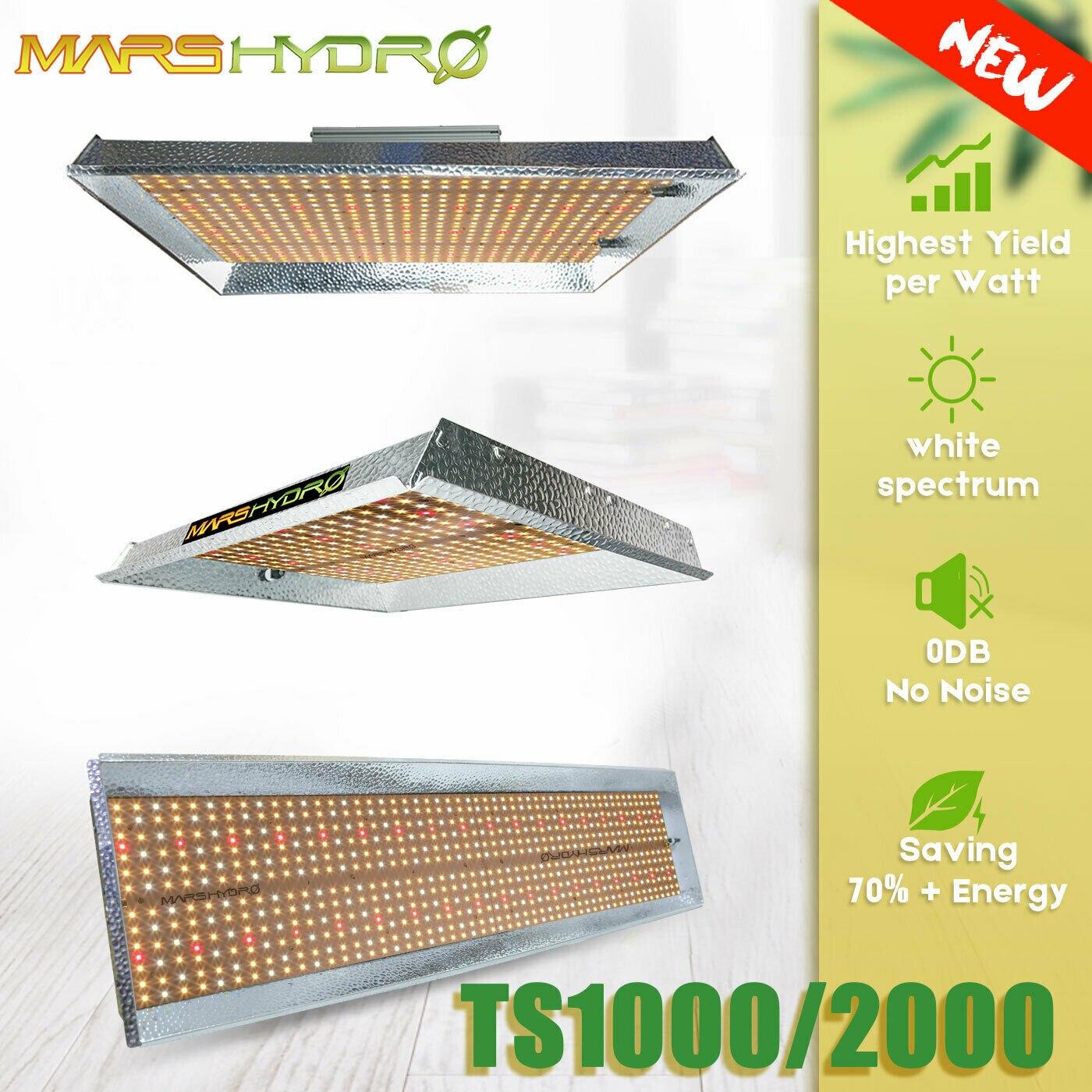 Mars Hidro TS 1000 Cresce A Luz LED Indoor Plantas Veg Flor Substituir HPS/HID Hidroponia Specturm Completo