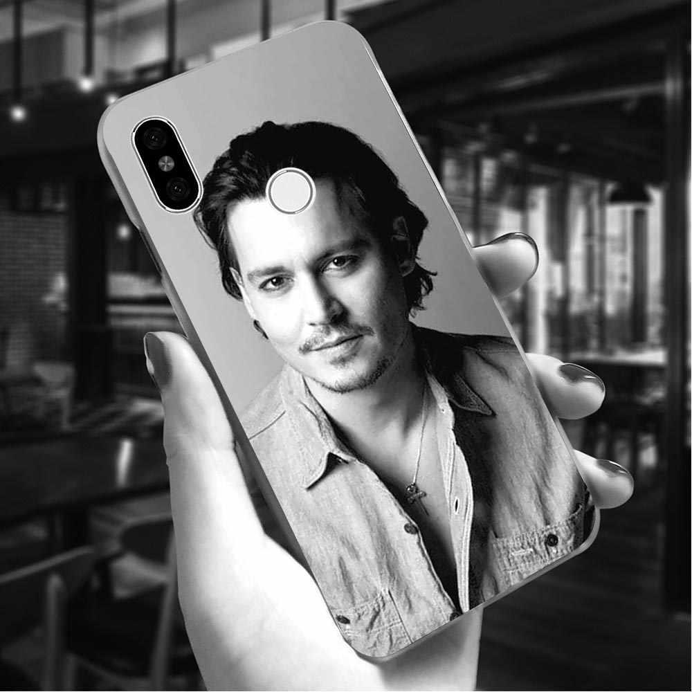 Hard Cover for Xiaomi Redmi 5A Johnny depp Case for Redmi 6 Cover 4X 4A 5 Plus 5A Prime 6A Note 5 Pro Back Cases  Hybrid
