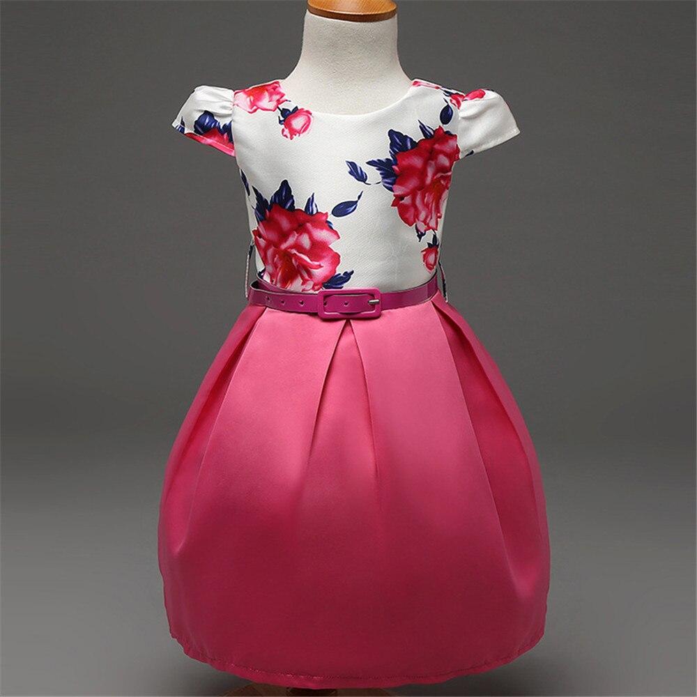 №Nuevo estilo al por menor del verano del bebé vestido de la ...