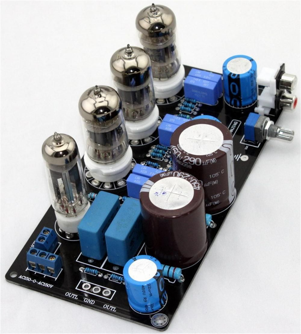6N4*3+6Z4*1 Tube Preamplifier Board Reference to Marantz 7 Circuit ld7530pl ld7530 sot23 6
