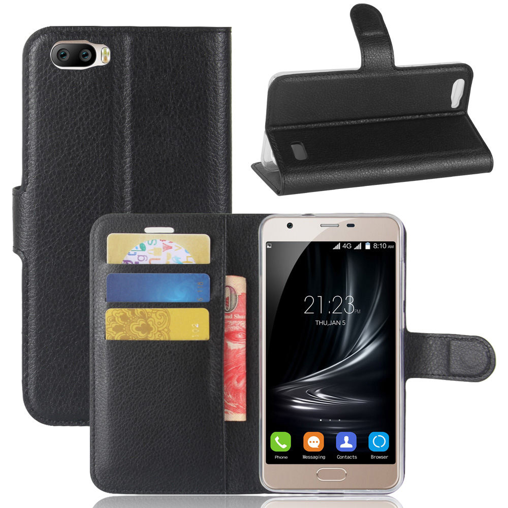 Fashion Wallet PU Leather Case Cover For Blackview A7 Flip Protective Phone Back Shell W ...