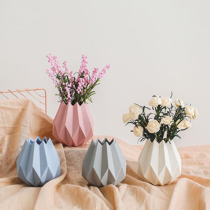 Modern Ceramic Vase Home Decoration Accessories Ceramic