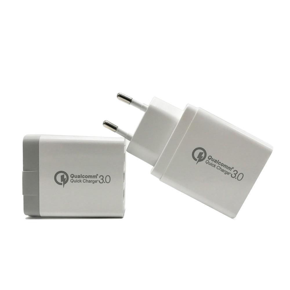 Snabbladdning 3.0 3 portar USB QC 3.0 Resesnabbladdare för iPhone XS - Reservdelar och tillbehör för mobiltelefoner