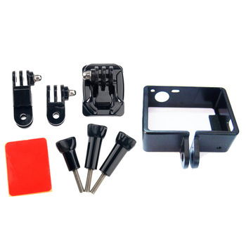F05443-A Bracket holder Mount +Side +Curved Adhesive +Standard Border Frame for GoPro  Hero 3 3+ FS