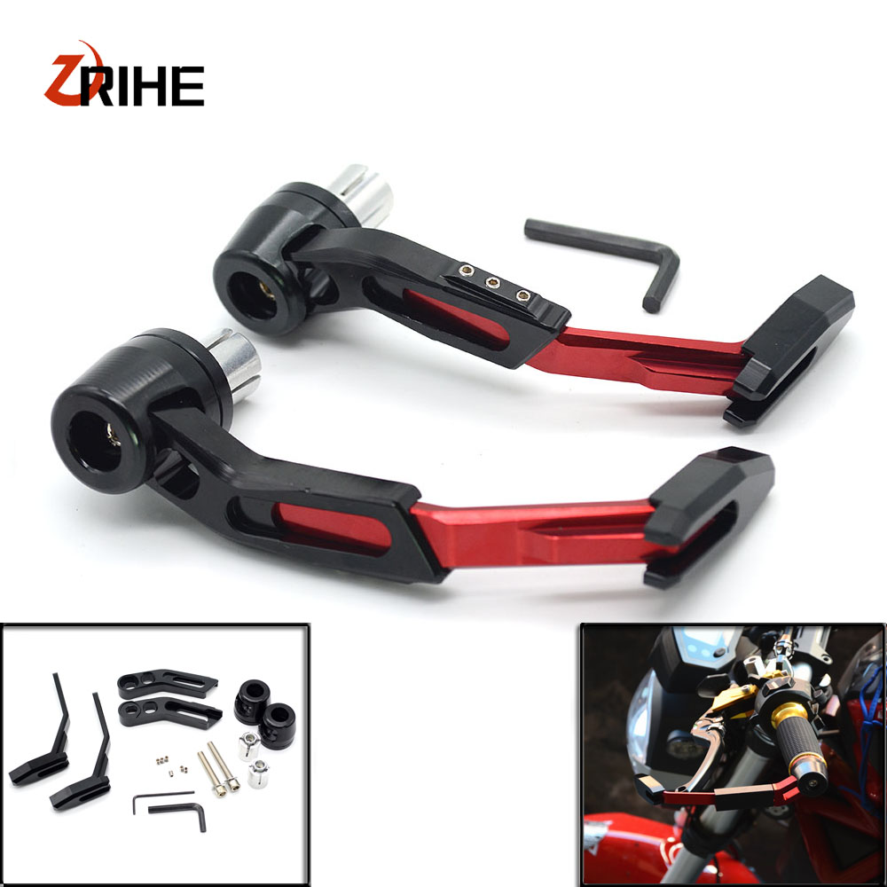 7/8CNC Motorcycle Proguard System Brake Clutch Levers Protect Guard For Kawasaki Z900 Z650 versys 1000 vulcan s 650 cc z900 elite fitness massager roller stick trigger point muscle roller exercise therapy releasing tight body massage tool gym rolling