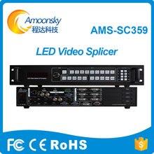 layar ams-sc359 layar pengontrol prosesor digital yang dipimpin layar vga video switcher switcher mulus seperti vdwall505