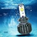 LED H1 H3 H7 H8 H9 H11 9005 9006 Plug & Play Car faro 30 W 3600LM con turbo ventilador Reemplazar Halógeno Del Xenón Del Coche Faros antiniebla Luz