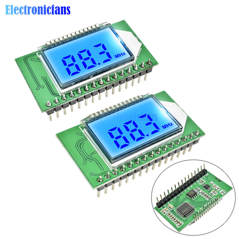 Digital Stereo FM Receiver Module LED Display Radio Wireless Receiver for DIY