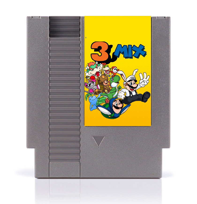 MAO 3 Mix Battery Save 8 Bit <font><b>Game</b></font> <font><b>Card</b></font> for <font><b>72</b></font> <font><b>Pins</b></font> <font><b>Game</b></font> Consoles image