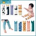 5Pair/lot Baby Cartoon Animal  Shark Mouth Warm Kneepads Cotton Socks Leg Warmers Children Kids Girls Boy Brand Socks 2 Group