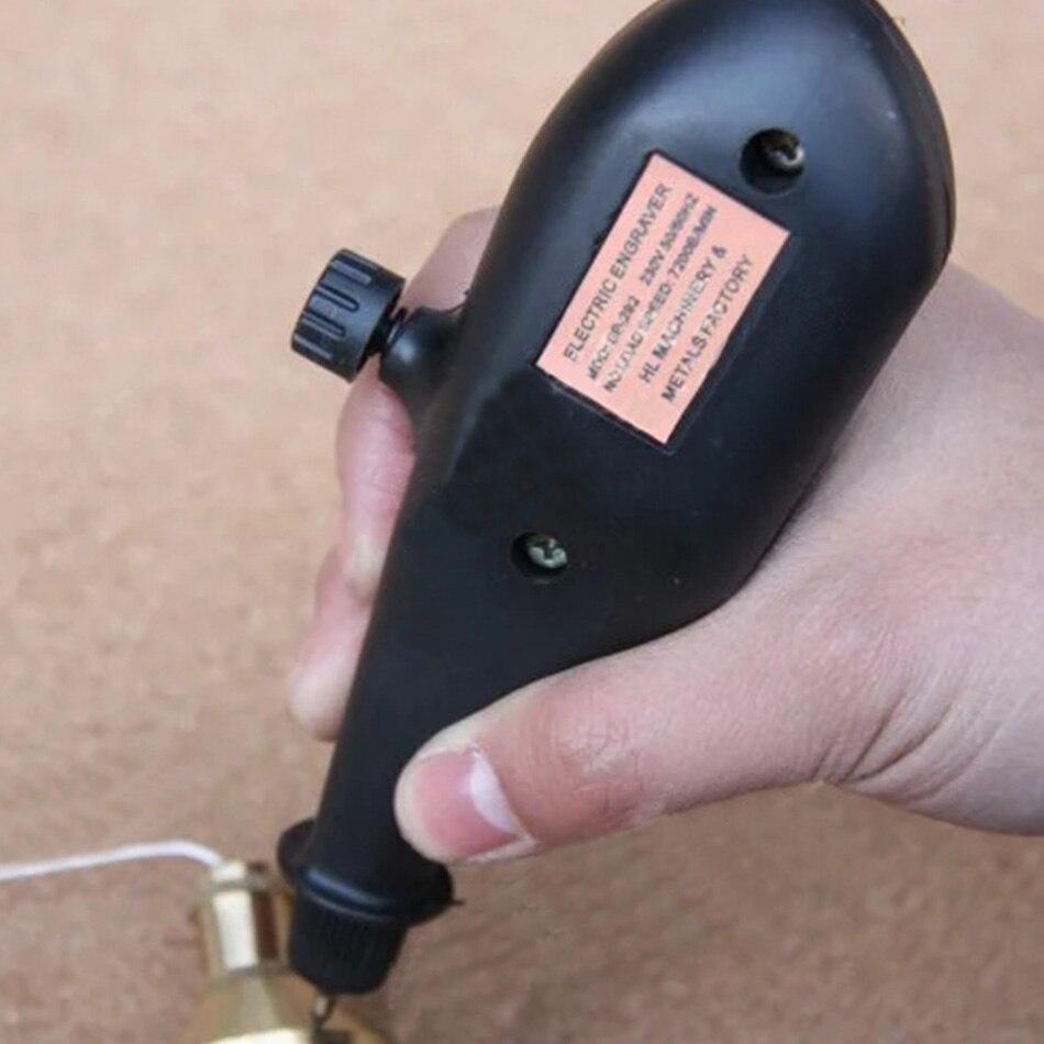 SP-292-A Machine de gravure électrique stylo traceur lettrage utilisé dans les outils de mesure en métal numéro de moule