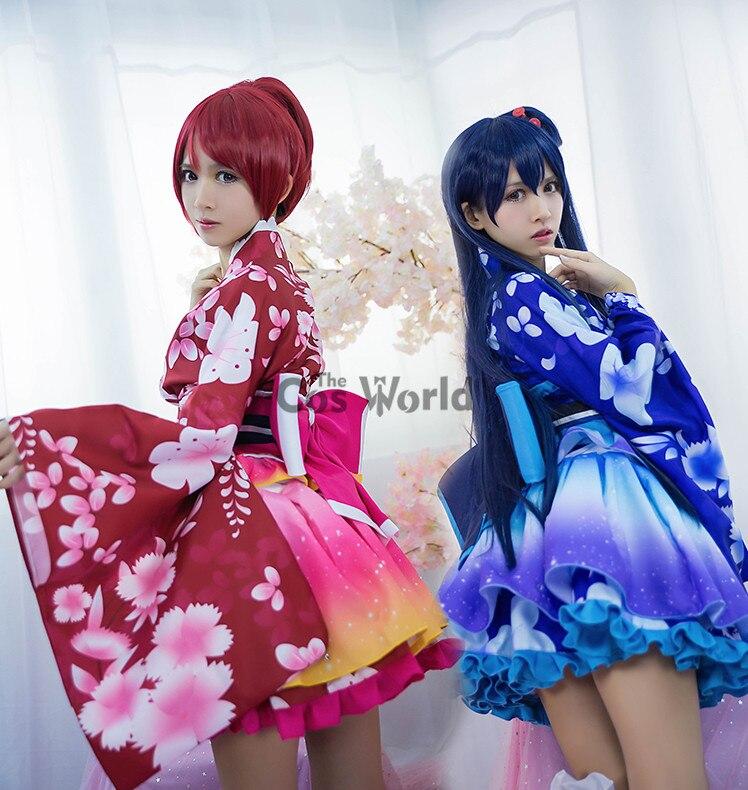 62b48f6968ee LoveLive! Love Live Sonoda Umi Summer Festival Kimono Yukata ...