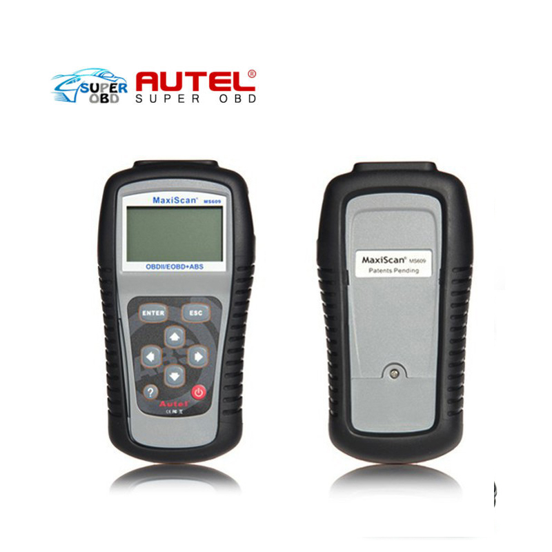 ФОТО Top-Rated Free Shipping Best Selling wholesale price OBDII EOBD autel ms609 scanner,MaxiScan MS609 with top quality
