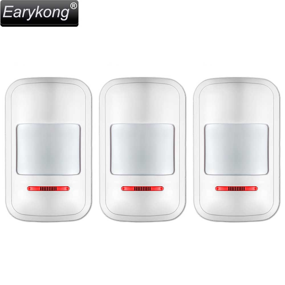 Hot Selling PIR Motion Detector 3 pieces include Big Promotions For Home Burglar font b Alarm